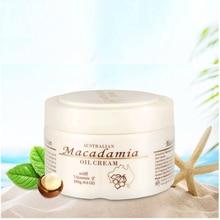 Australia GM MACADAMIA OIL Day Body Cream Fatty Acid for Fine Lines Wrinkles Weathered Skin Nourishing Regenerating Softening macadamia nourishing moisture masque