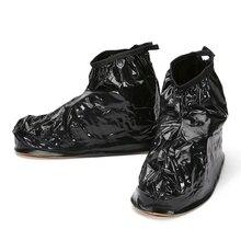 YJP Waterproof Rain Reusable Shoes Covers, All Seasons Slip-resistant Zipper Rain Boots Overshoes, Men&Women's Shoes Accessories