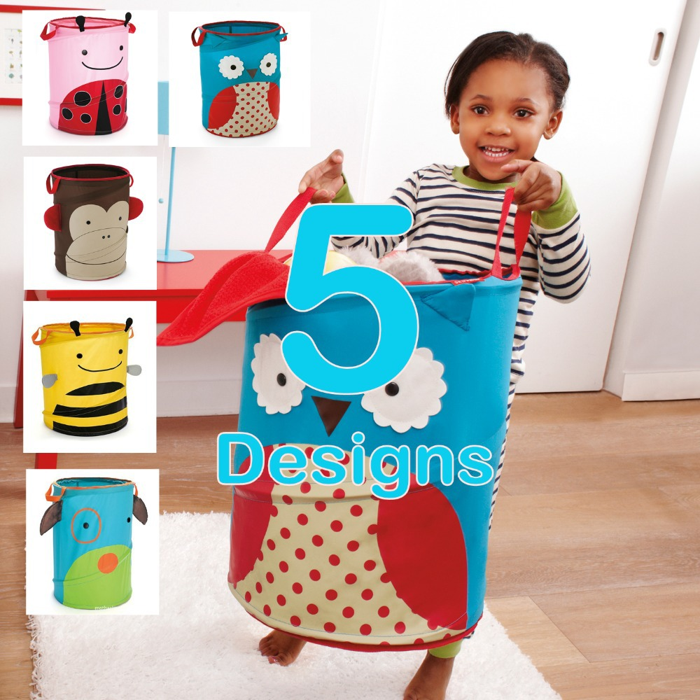Skp Foldable Kids Storage Bins Zoo Pop Up Hamper Jars Organizer Doomagic  Home Storage Toys ...