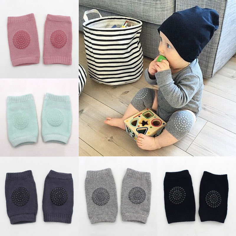 5 Colors Baby Knee Pads Babies Safety Crawling Knees Protector Infants Toddlers Knee Pad Anti-slip Winter Leg Warmers