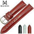 12 мм 14 мм 16 мм 18 мм 20 мм красный HQ натуральная кожа часы ремень мода благородных девиц патент кожаный ремешок