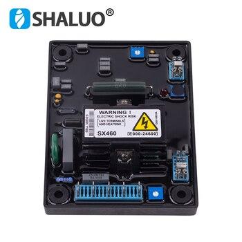 Yüksek kaliteli SX460 AVR fırçasız alternatör voltaj sabitleyici 110V 220V AVR geliştirme kurulu ayarlayıcı jeneratör regülatörü