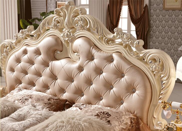 Letto matrimoniale di design di lusso per la casa usato king size ...