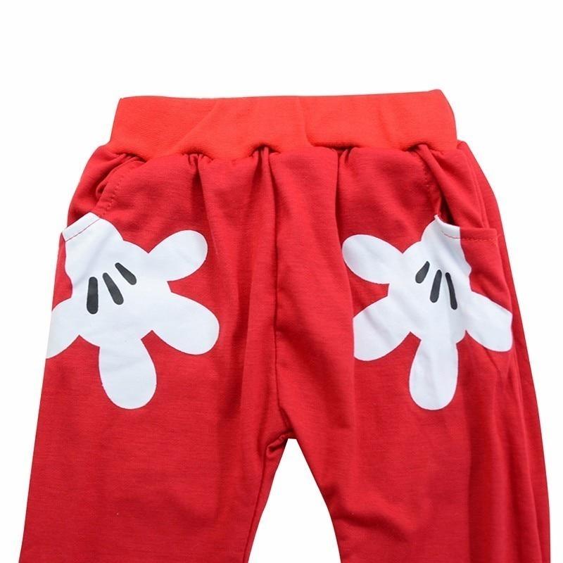 Mickey Baby Boy Clothes Newborn Baby Girl Clothing Set Spring Sports Baby Girl Clothing Set Roupas Bebe Cotton Children Clothing 6
