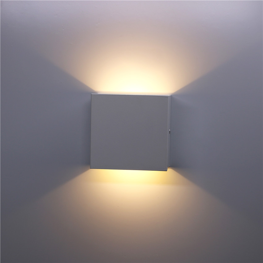 Led Indoor Wall Lamps Lights & Lighting Cold White Nr-122 Indoor 6w Led Wall Lamps Ac85-265v Aluminum Decorate Wall Sconce Bedroom Led Wall Light Warm White