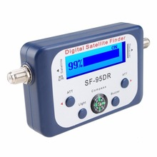 Digital Satellite Receiver Signal Finder SF-95DR Satlink TV Tuner DVB-T2 Satfinder DISHNETWORK DIRECTV DISH WITH COMPASS FTA