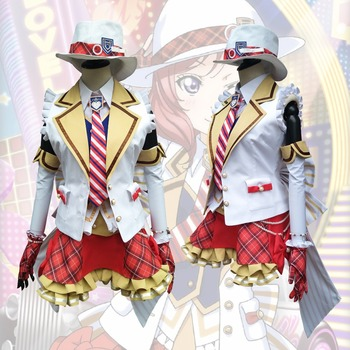 2018 New LoveLive! Card HR Nishikino Maki Cosplay Costume Fancy Dress Adult Costumes Carnival/Halloween Costumes for Women S-XL 1