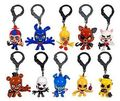 DHL FNAF Key Chain Five Nights at Freddy's Clip Key Ring Characters Puppet Marionette Golden Freddy Balloon Mangle Collector