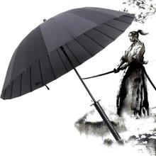Samurai-Umbrella Paraguas Business Japanese Large Strong Automatic Windproof Women's