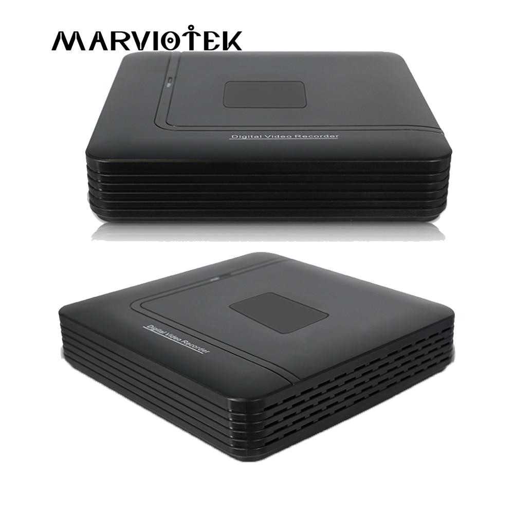 4 Channel AHD Mini DVR Video Recorder Surveillance Security CCTV NVR 720P/8CH 1080N Hybrid DVR For Analog AHD ONVIF IpCam WiFi