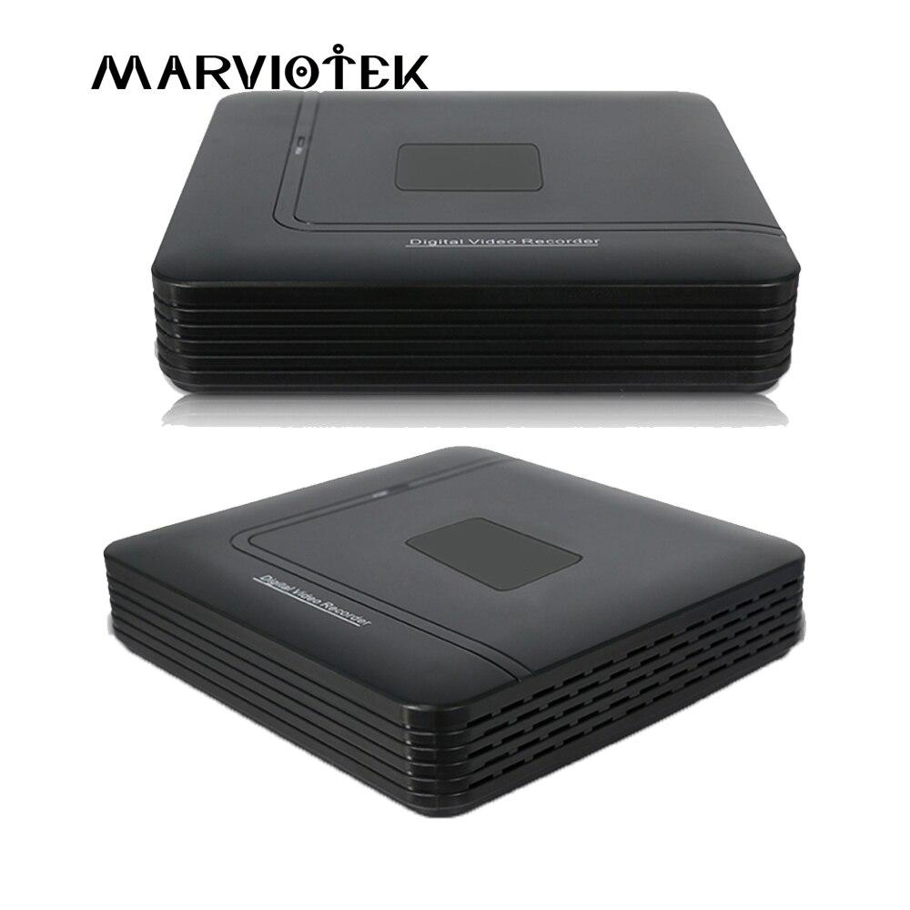 4 canal AHD Mini DVR Enregistreur Vidéo Surveillance de Sécurité CCTV NVR 720 p/8CH 1080N Hybride DVR Pour Analogique AHD ONVIF IpCam WiFi