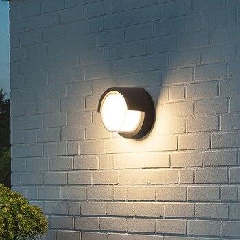 Freies verschiffen 10W FÜHRTE Wand Licht Wasserdichte IP65 Veranda Licht Moderne Wand Lampe Hof Garten Außen Beleuchtung Dekorative licht