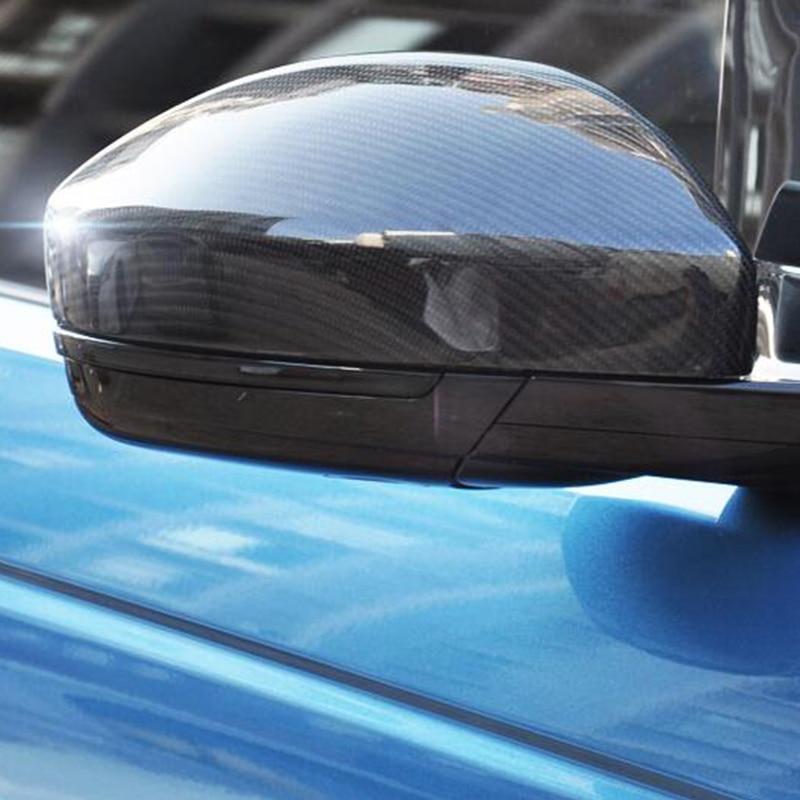 Для Jaguar F-PACE F PACE 2016-2018 автомобиль-Стайлинг Аксессуары наружная дверь зеркало заднего вида украшения протектор оболочки крышка корпуса