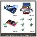3D Принтер kit-1pcs Мега 2560 R3 + 1 шт. ПЛАТФОРМЫ 1.4 Контроллер + 5 шт. A4988 Шагового Модуль Драйвера + 1 шт. 12864 контроллер