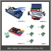 3D Printer Kit 1pcs Mega 2560 R3 1pcs RAMPS 1 4 Controller 5pcs A4988 Stepper Driver