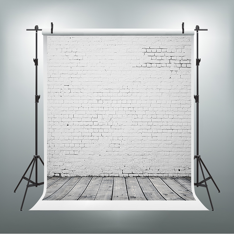 Фото Photography Backdrops Wood Floor Party Photo Background White Stone Brick Wall Backgrounds for Photo Studio