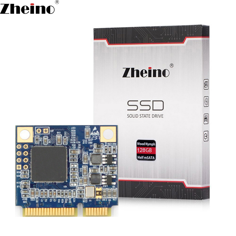 купить Zheino Half Size mSATA 128GB SSD 2D MLC Mini PCIe half mSATA3 Internal Solid State Drive 16gb 32gb for PAD Laptop Tablet Mini Pc