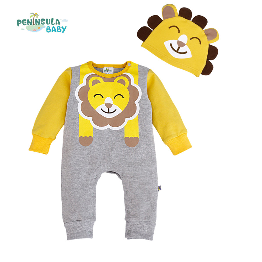 2016 New Baby Rompers Cotton Cartoon Baby Clothing Set Overalls for Newborn Baby Clothes Boy Girl Romper Ropa Jumpsuit  baby clothes next baby rompers overalls for newborn baby girl boy romper body baby clothing character cotton costume one pieces
