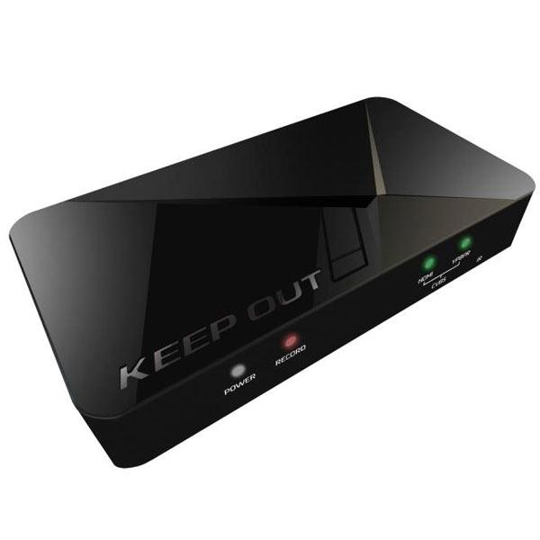 Capture Video Keep Out Sx300 Full HD HDMI Wired Micro Incl. Edition Software image