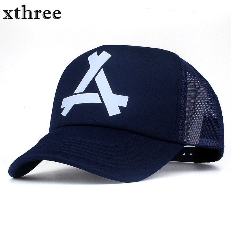 Xthree New summer baseball cap mush cap 5 panels girl snapback hat for men women casual casquette gorras 2016 new new embroidered hold onto your friends casquette polos baseball cap strapback black white pink for men women cap