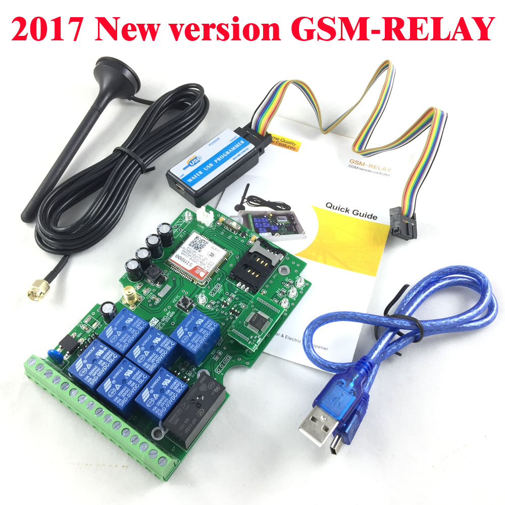 7 Channels Gsm Relay Switch Call Sms Remote Control Light, Curtains, Garage Door, And Water Pump Etc Of Intelligent Home