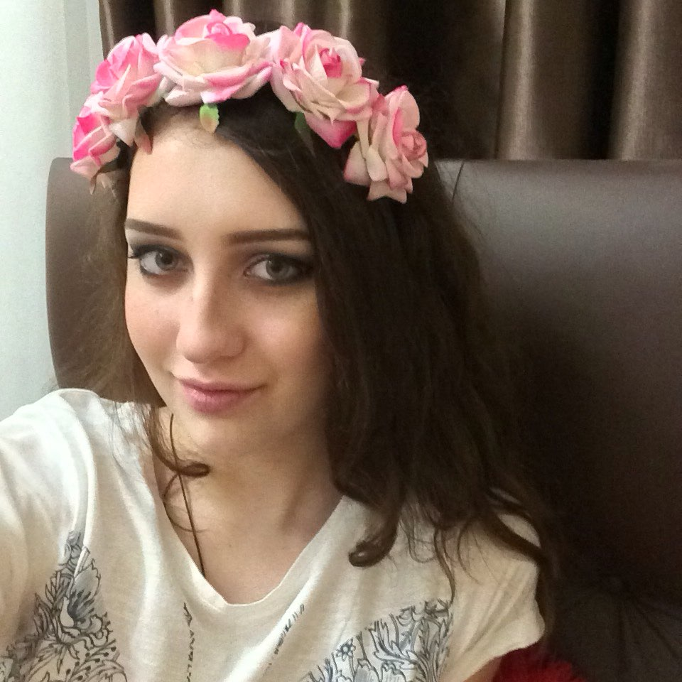 flower garland girls headwear hair