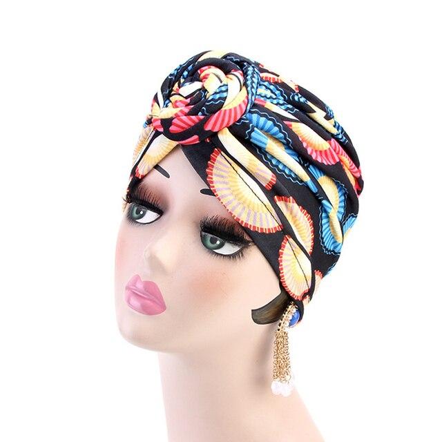 KIGALI Turban motif africain  4