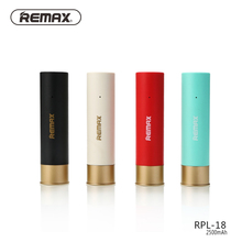 Remax RPL-18 Мини Портативный Банк силы 2500 мАч Shell Дело Powerbank для xiaomi телефон универсальная батарея лития полимера RPL18