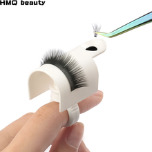 Individual False Eyelash Tray And Glue Ring Two In One Makeup