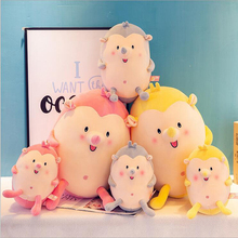 New Style Cute Fat Hedgehog Plush Toys Stuffed Animal Doll Toy Soft Plush Pillow Baby Toy Children Birthday Gift цена