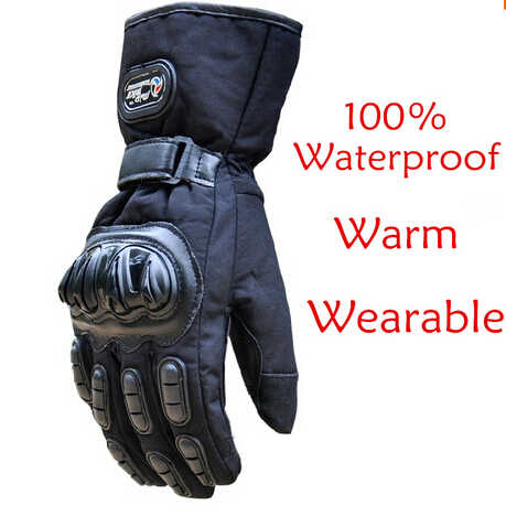 送料無料オートバイ の手袋防水モト guantes モト motocicleta バイク ciclismo100 %防水防風ml xl xxl