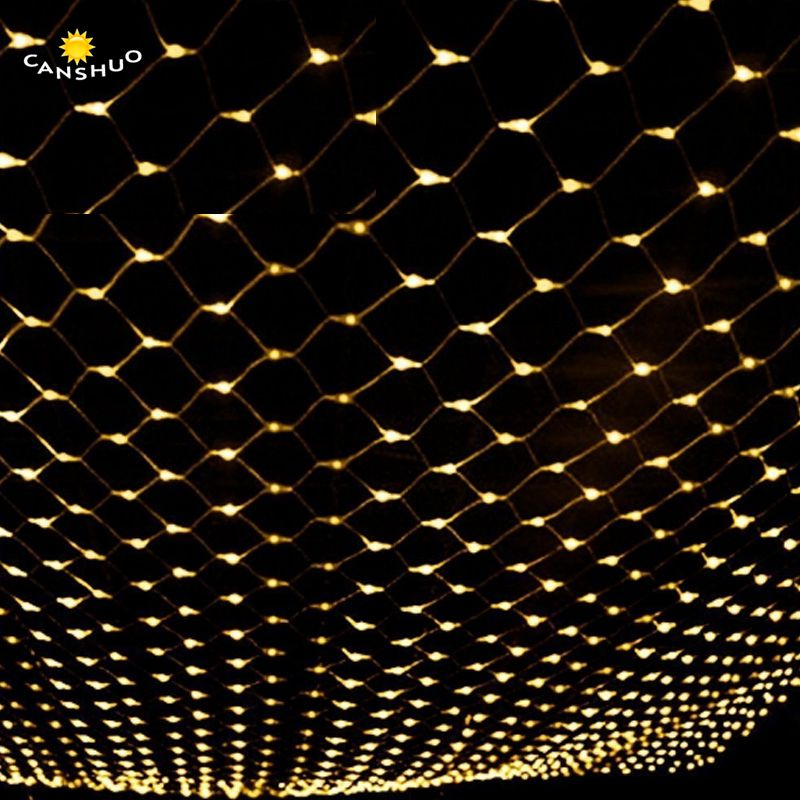 6MX4M 750LED home outdoor holiday christmas xmas decorative wedding net mesh string fairy curtain garlands strip party lights недорого