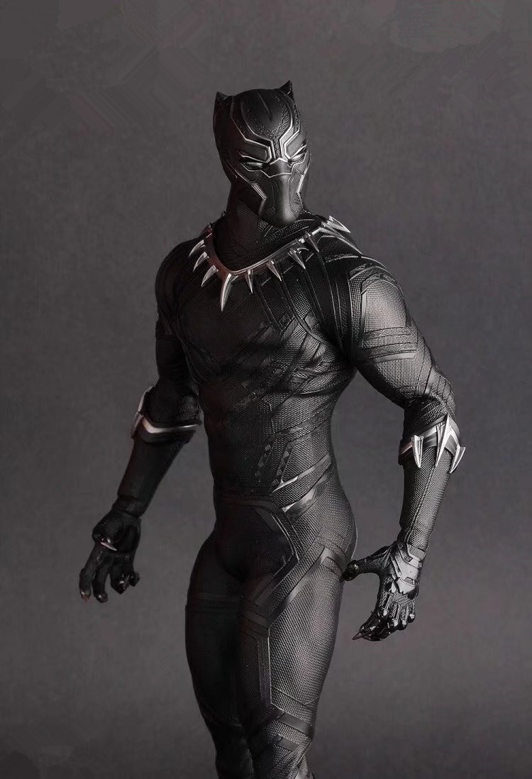 Crazy Toys 1:6 Avengers Infinity War Super Hero Black Panther Action Figure PVC Toy Brinquedos 28cmCrazy Toys 1:6 Avengers Infinity War Super Hero Black Panther Action Figure PVC Toy Brinquedos 28cm