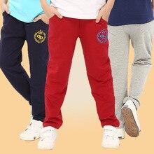 Nouveau Enfants Pantalon Garçons Coton Casual Sport Pantalon De Mode Lettre Imprimer Bébé Pantalon Enfants Vêtements Printemps Automne Enfants Vêtements