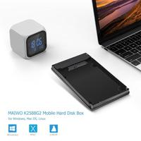 MAIWO External Hard Disk Mobile SSD Case Type C to 2.5 inch SATA HDD SSD Box For Macbook For Windows, Mac OS, Linux