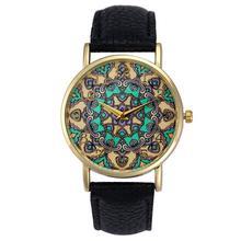 Retro Totem Dial Watches Women Dress Analog Wristwatch Clock Relogio Feminino Women's Casual Sports Watches Men Quartz Watch #JO
