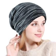 97bcab57bbc Adult Unisex Off White Slouchy Beanie Winter Outdoor Hip Hop Warm Ponytail Beanie  Cap Messy Bun Beanie Without Visor Women s Hat