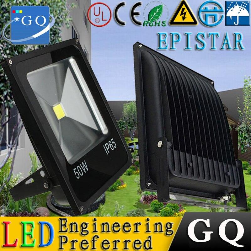 6 шт./лот FEDEX 20 Вт Светодиодный прожектор привело поиска свет непромокаемый Водонепроницаемый 85-265 В напольный светильник черный основа Прям...