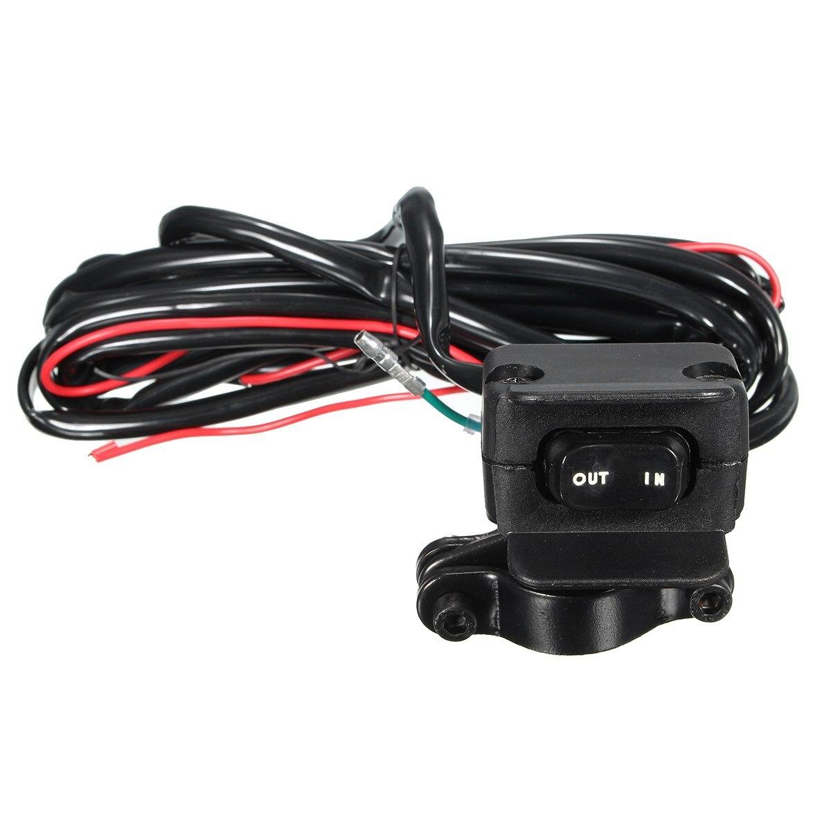 3 Meters ATV UTV Winch Rocker Switch Handlebar Control Line Warn font b Accessories b font