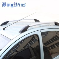 BingWins Car stlying for Kia Carnival auto luggage rack 1.6 m roof rack or Free Punch aluminum alloy luggage rack