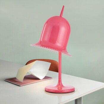 Lámpara De Mesa De Tapa Para Sala De Estar De Niños Dormitorio Luz De Noche Bar Café Estudio Lámpara De Escritorio
