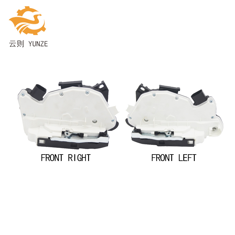 2PCS 5N1837015A 5N1837016A FRONT LEFT RIGHT SIDE CENTRAL DOOR LOCK ACTUATOR FOR AUDI SKODA SEAT TIGUAN CC SCIROCCO AMAROK 2pcs left