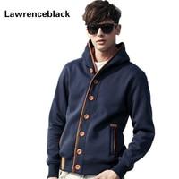 Mens Hoodies Casual Cotton Sweatshirt Autumn New Cardigan Winter Brand Fashion Solid Pullover Hip Hop Hoodie
