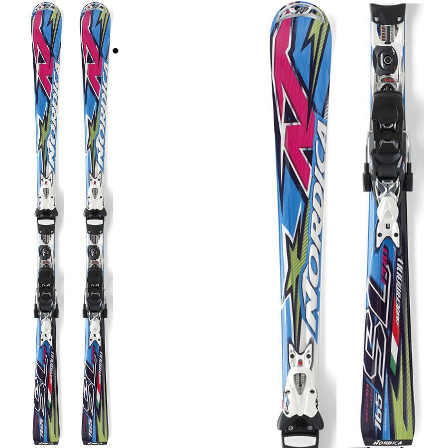 Harbin Wang \ Italy Nordica Nordica dog top SL slalom skis double plate preferential image
