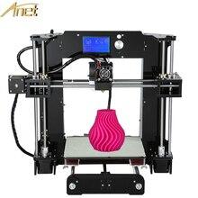 Lo nuevo Upgrated Reprap Prusa i3 Anet A6 Fácil de montar Kit de Impresora 3D Filamentos Impresora de BRICOLAJE Con El Envío De Aluminio Semillero