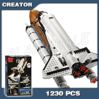 1230pcs Creator New Shuttle Expedition Adventure 16014 Model Building Blocks Assemble Bricks Children Kids Compatible With Lego