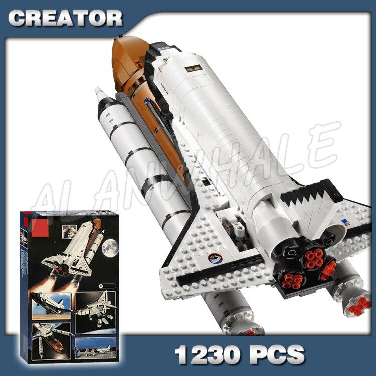 1230pcs Criador Nova Aventura Expedição 16014 Modelo De