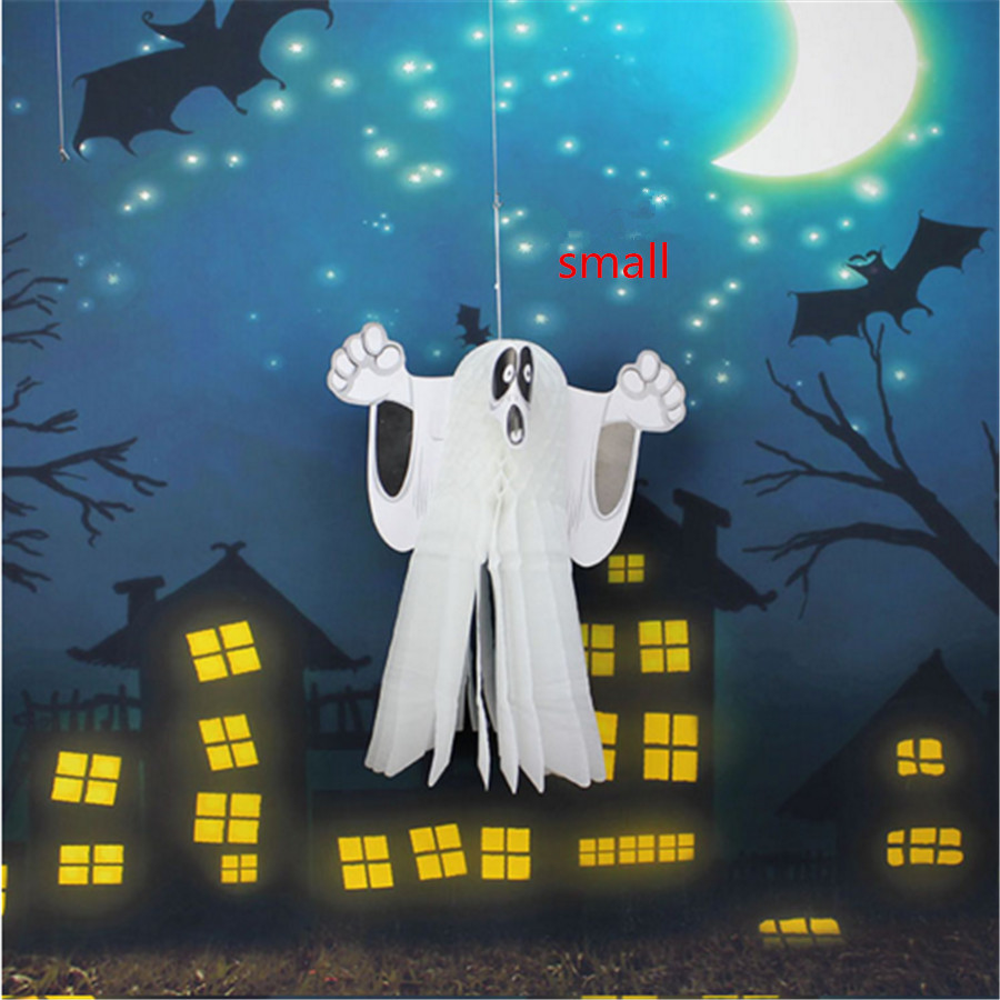 halloween party decorations supplies props mall the size of three dimensional ghost kids halloween ghost - Halloween Party Decorations Cheap