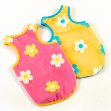 Floral Print Cotton Vest for Cats