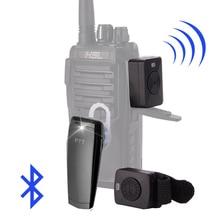Walkie Talkie Hands free Auricolare Bluetooth K/M Tipo di Auricolare Portatile A Due Vie Radio Cuffie Senza Fili Per Motorola baofeng